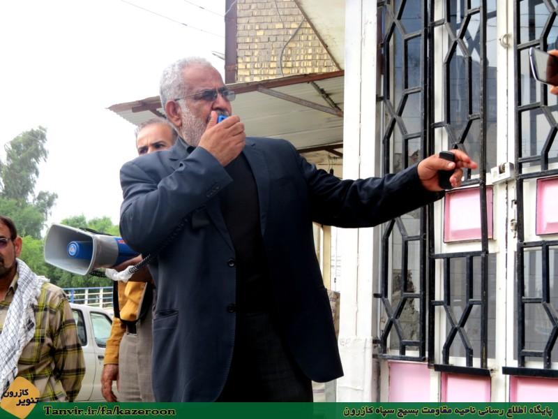 سوسنگرد به احترام شهدای کازرون تمام قامت ایستاد/ همایش «مدافعان شهر مقاوم» برگزار شد+ عکس