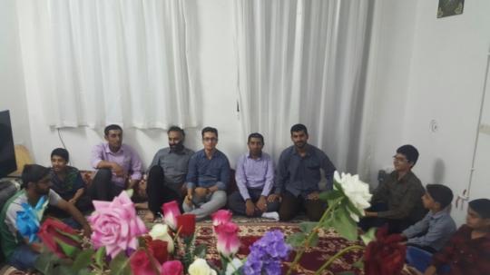 دیدار بسیجیان پایگاه شعب ابی طالب با رزمندگان مدافع حرم