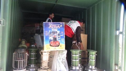 ارسال آخرین کمک های مردمی به مناطق زلزله زده استان کرمانشاه
