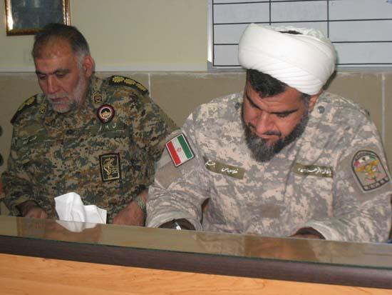 حضور بازرسان سازمان بسیج ولشکر عملیاتی مردم پایه فجر در فراشبند
