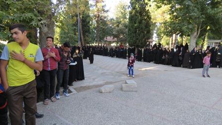 پیاده روی بزرگ خانوادگی پایوران سپاه سروستان در هفته دفاع مقدس