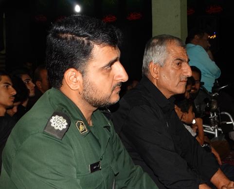 یادبود شهدای مدافع حرم در فراشبند برگزار شد+تصاویر