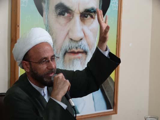 دیدار پرسنل سپاه با امام جمعه فراشبند