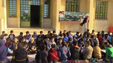 اجرای طرح یاوران دانش آموز در مدارس محروم و کم برخورد به مناسبت هفته بسیج