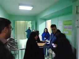 تجلیل از پرستاران بیمارستان حضرت ولی عصر (عج)