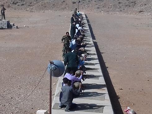 اردوی عملی مرحله سوم درس آمادگی دفاعی دانش آموزان فسا