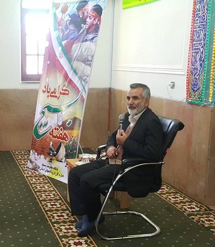 مراسم گرامیداشت هفته بسیج در اداره کل فرودگاههای استان فارس