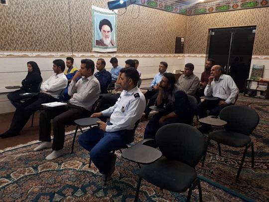 برگزاری کلاس آموزشی حوزه کارمندی شهید تندگویان فیروزآباد