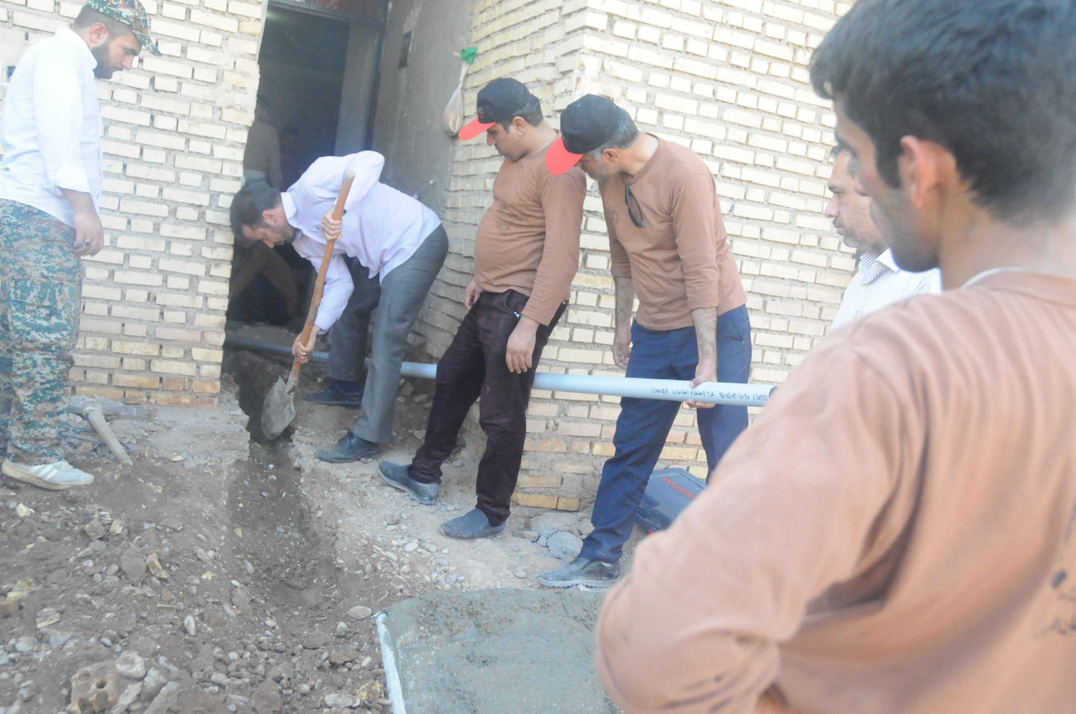 بازدید جانشین فرماندهی سپاه فجر فارس از اردوهای جهادی خوزستان