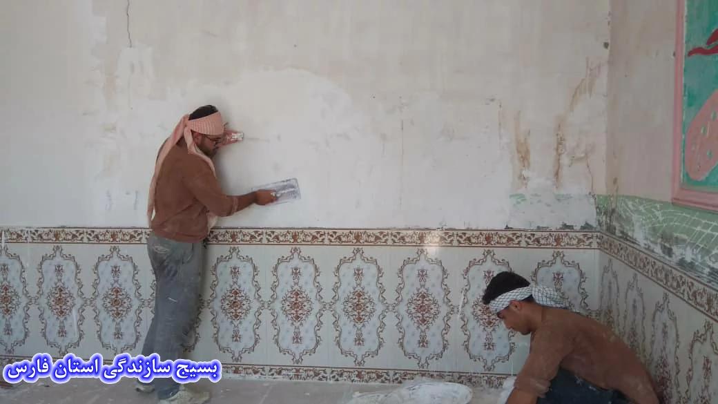 14 واحد مسکونی خوزستان توسط جهادگران لارستان تعمیر شد