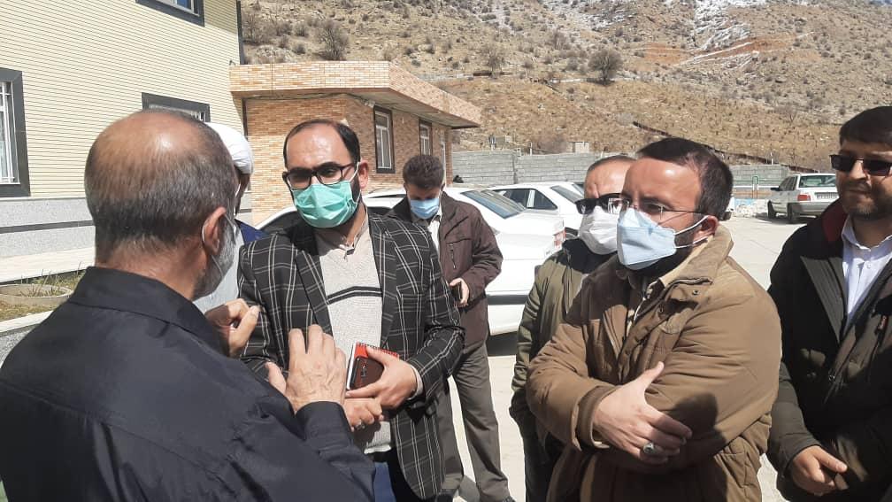 از منطقه زلزله زده سی سخت بازدید شد